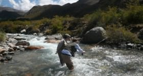 Fly Fishing in Mendoza