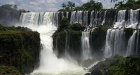 Iguazu Falls from Argentina side