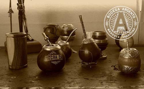 Mate tea gourds