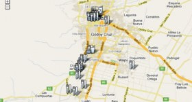 Mendoza Restaurant Bar Map thumb