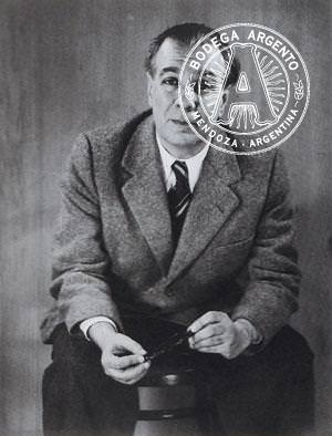 Jorge Luis Borges 1951 by Grete Stern