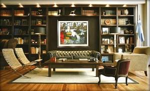 Legado Mitico Buenos Aires Hotel Library