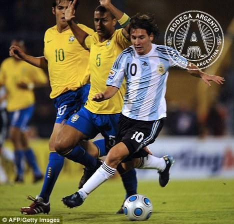 Argentina Nigeria World Cup 2010 Messi