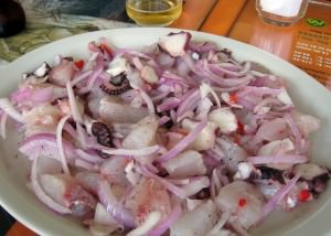 Argentina Food: Ceviche