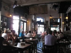 Argentina Travel: Bar Plaza Dorrego