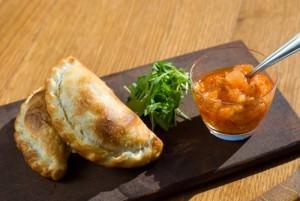 Argentina Food: Empanadas and Sauce