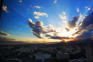 Argentina Wine: Mendoza Sunset