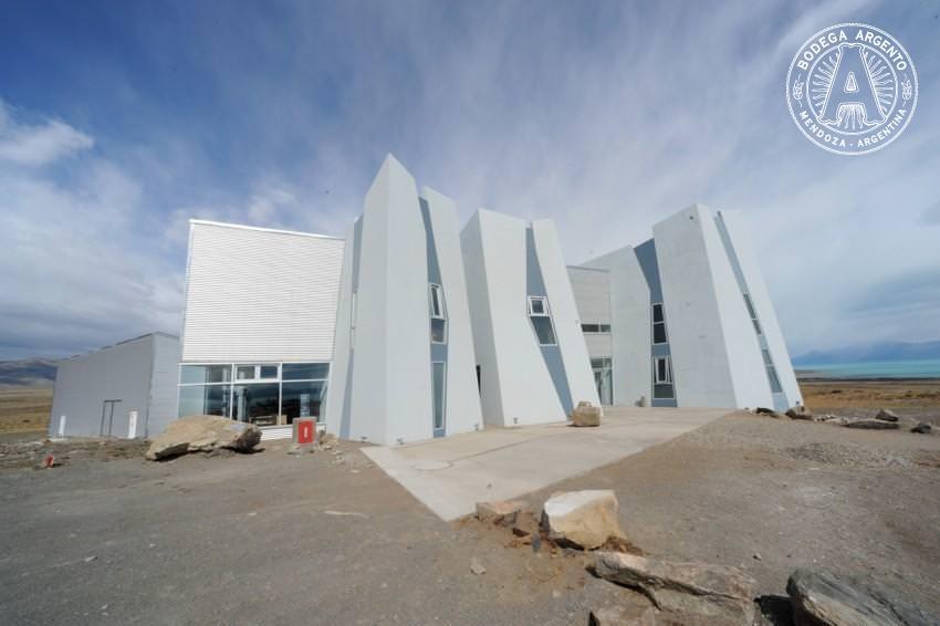 The exterior of the Glaciarium