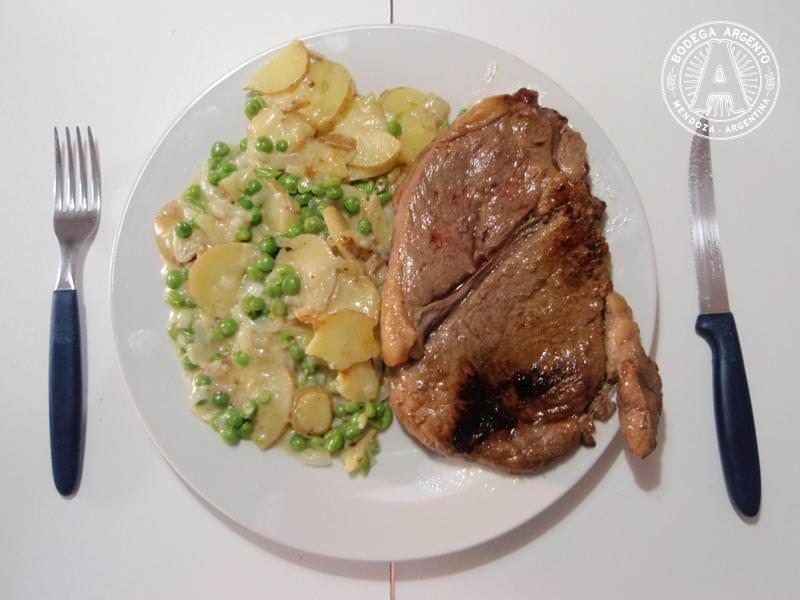Disco Supermarket Steak Dinner