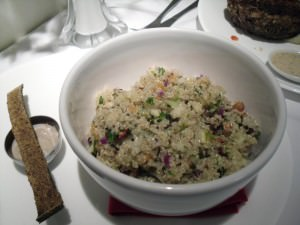 Kensho Quinoa risotto by Sorrel