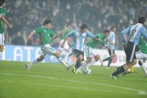 Lionel Messi at 2011 Copa America