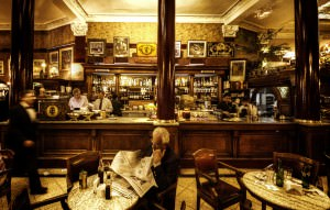 Relaxing in Buenos Aires - Cafe Tortoni