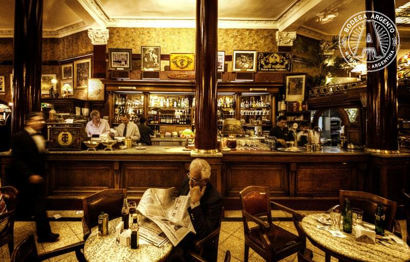 Relaxing-in-Buenos-Aires-Cafe-Tortoni-