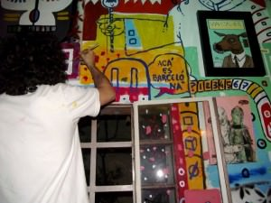 ExpressArte live painting
