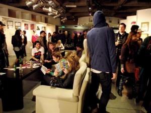 Play count-a-hoodie at Puma Urban Art Fair