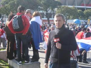 Journalism in Argentina - Copa America
