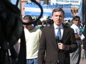 Journalism in Argentina - Funeral of Nestor Kirchner