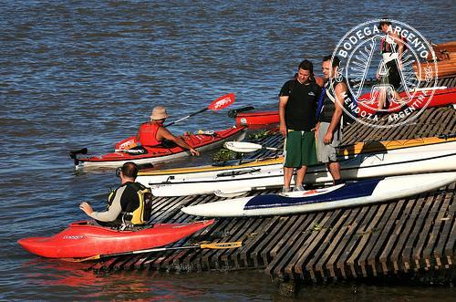 Kayaking on the Tigre