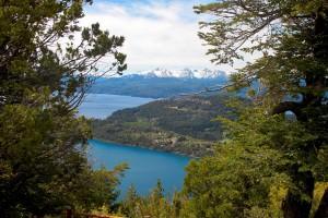 The View from Cerro Campanario outside Bariloche
