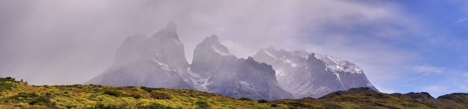 Torres del Paine in January