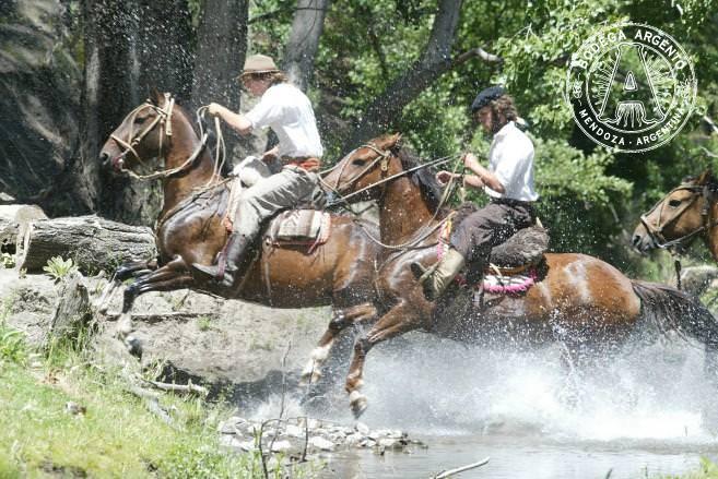 Horseback riding in Patagonia
