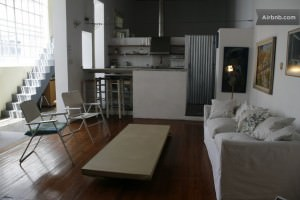 Minimalist Loft in Palermo from AirBnB