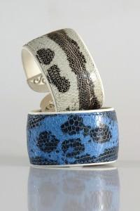 Lizard Bracelets (photos courtesy of Delge)