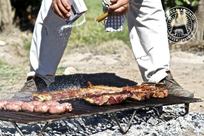 Traditional Argentine Asado