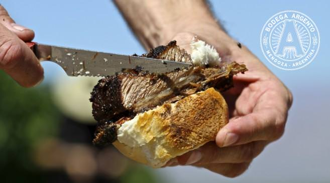 Beef from the asado