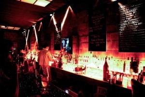 The bar at Gran Bar Danzon