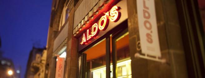 Aldo's Vinoteca sign