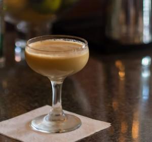 Fernet Alexander cocktail in New Orleans