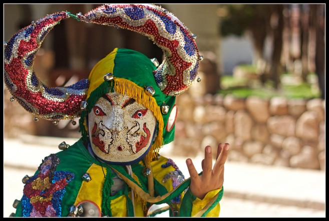 Carnaval devil in Humahuaca