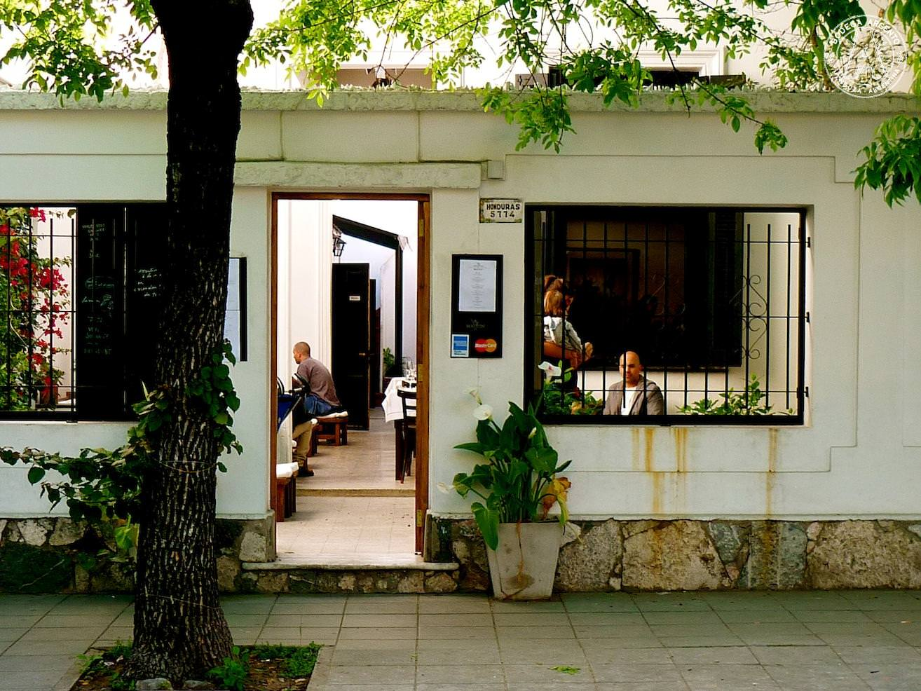 The best outdoor restaurants caf s and bars in buenos aires for A la maison restaurant