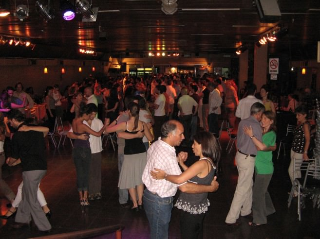 Milonga at La Viruta