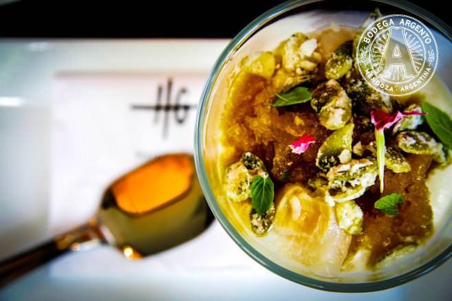 Hernan Gipponi's yogurt mousse dessert