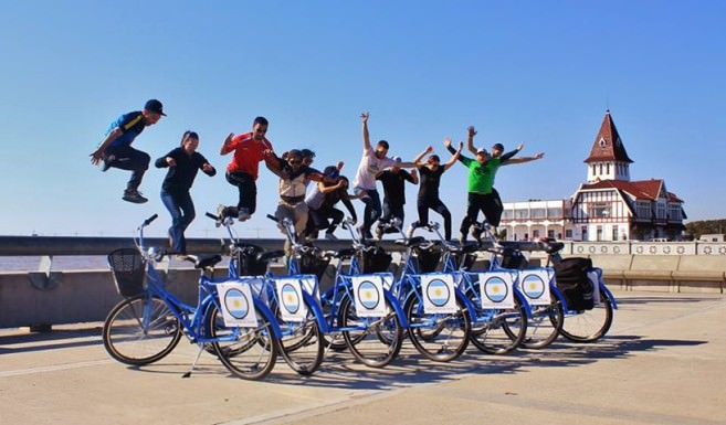 Costanera Norte biking tour; photo courtesy of Biking BA