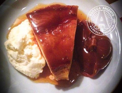 Flan Mixto from Don Julio