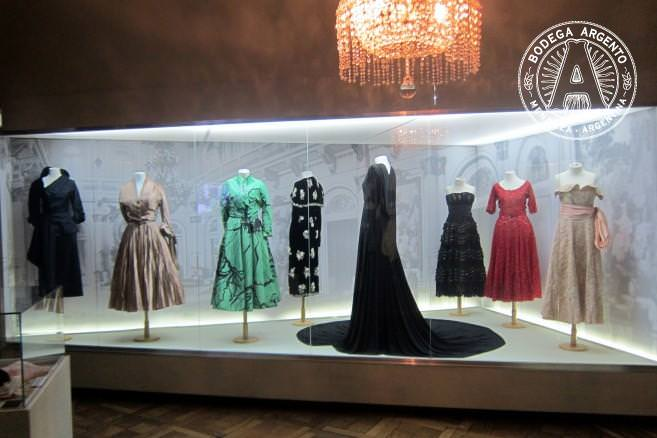 Dresses at Evita Museum; photo by Wally Gobetz.