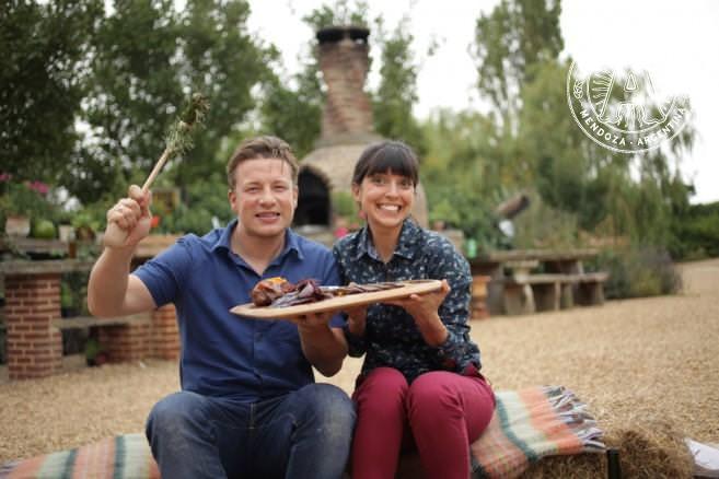Felicitas & Jamie Oliver