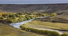 Río Senguer (river). Photo by Florian von der Fecht