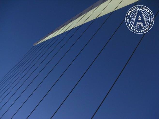 Close up of the Women's Bridge