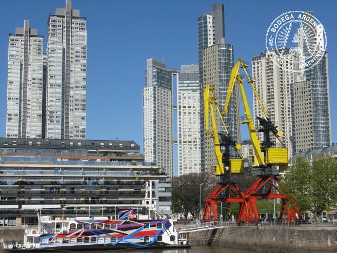 Puerto Madero historic docks