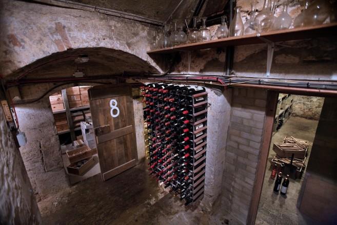 Wine Cellar in the Jesus College, Oxford