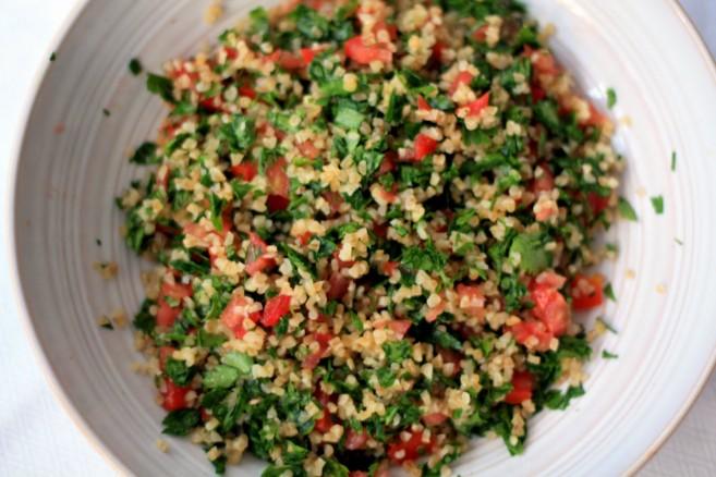 Tabule, una típica ensalada sefaradí con trigo burgol_Fuente web