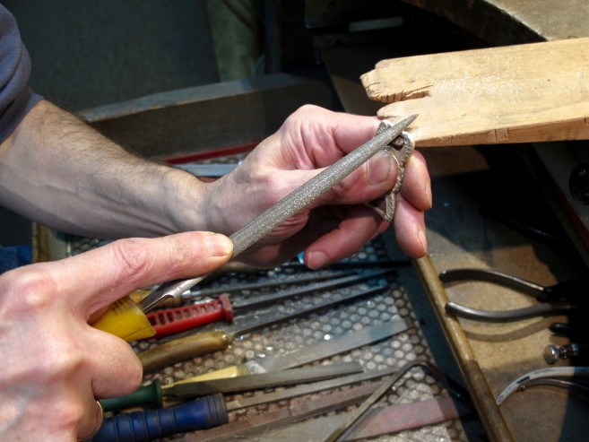 Traditional artisanal tools and methods. Ph Sonja D'cruze